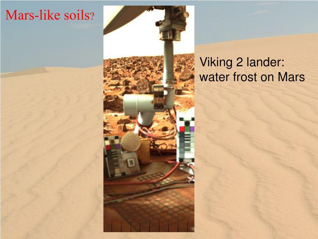 Mars-like soils