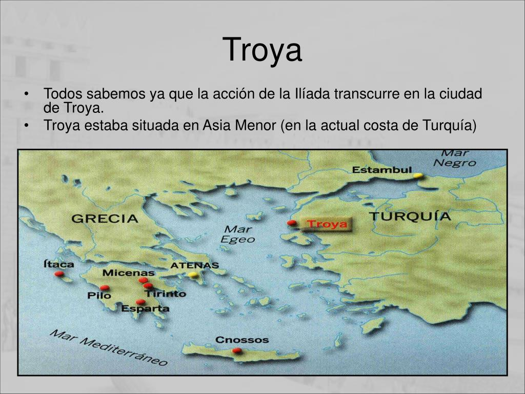 Donde Estaba Troya Mapa.Ppt Existio Troya Realmente Powerpoint Presentation Free Download Id 626946