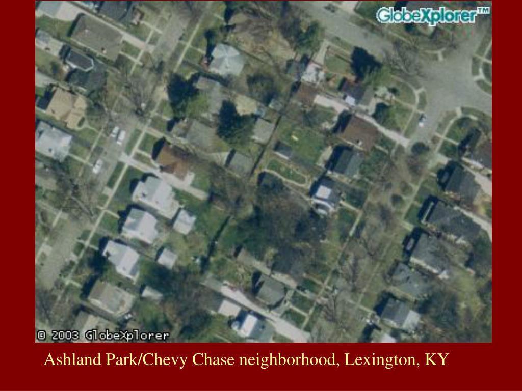Ashland Park/Chevy Chase neighborhood, Lexington, KY
