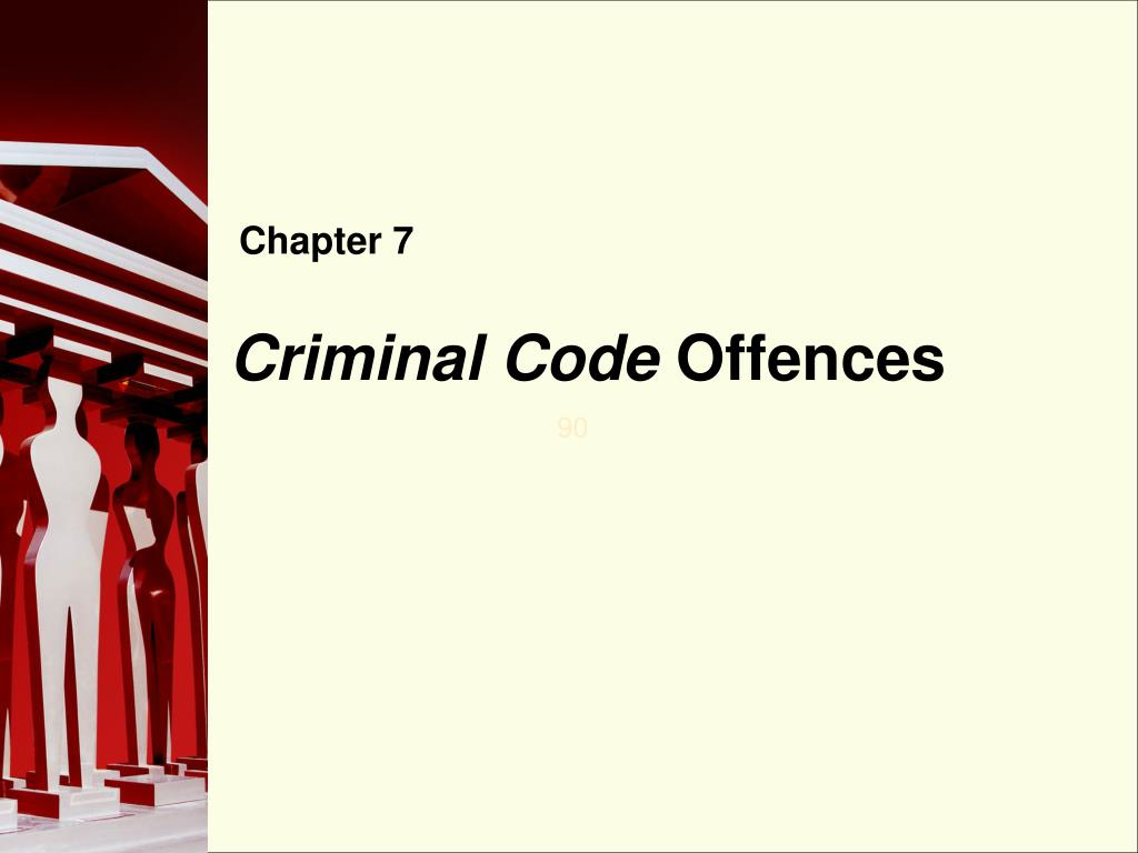criminal code offences l.
