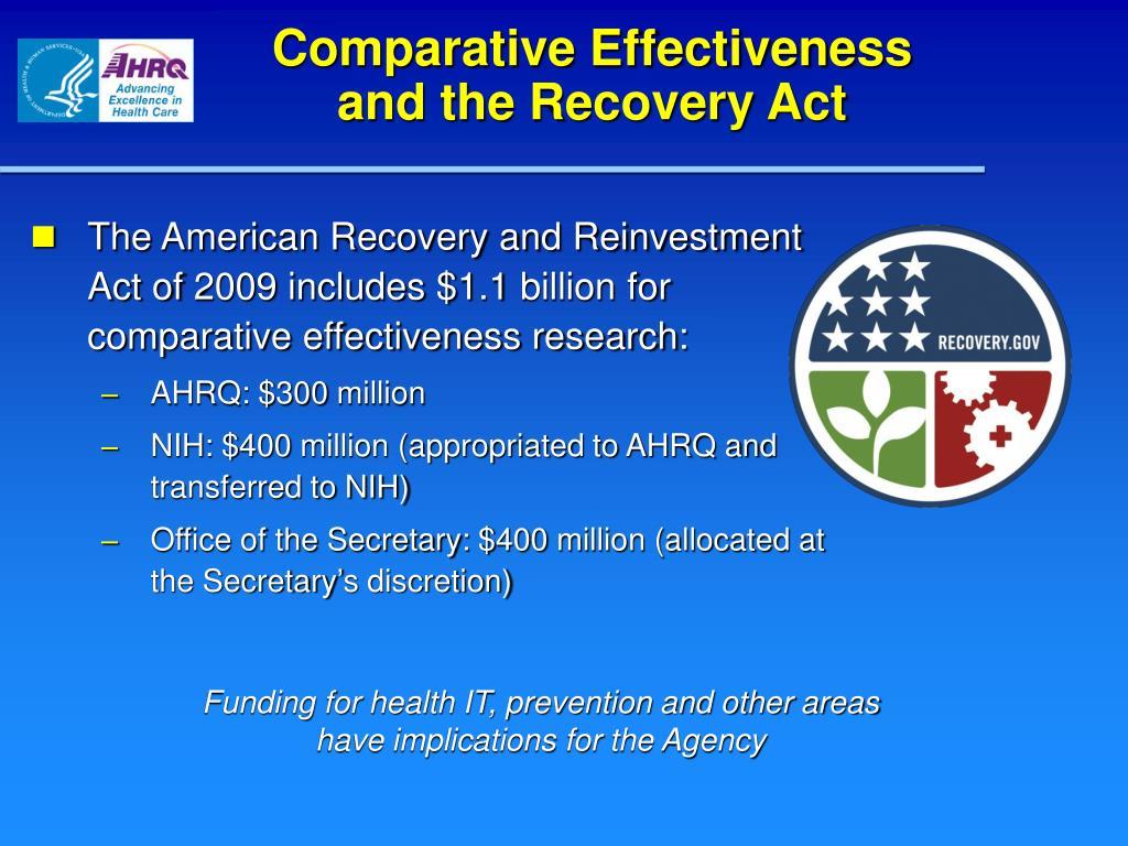 Comparative Effectiveness