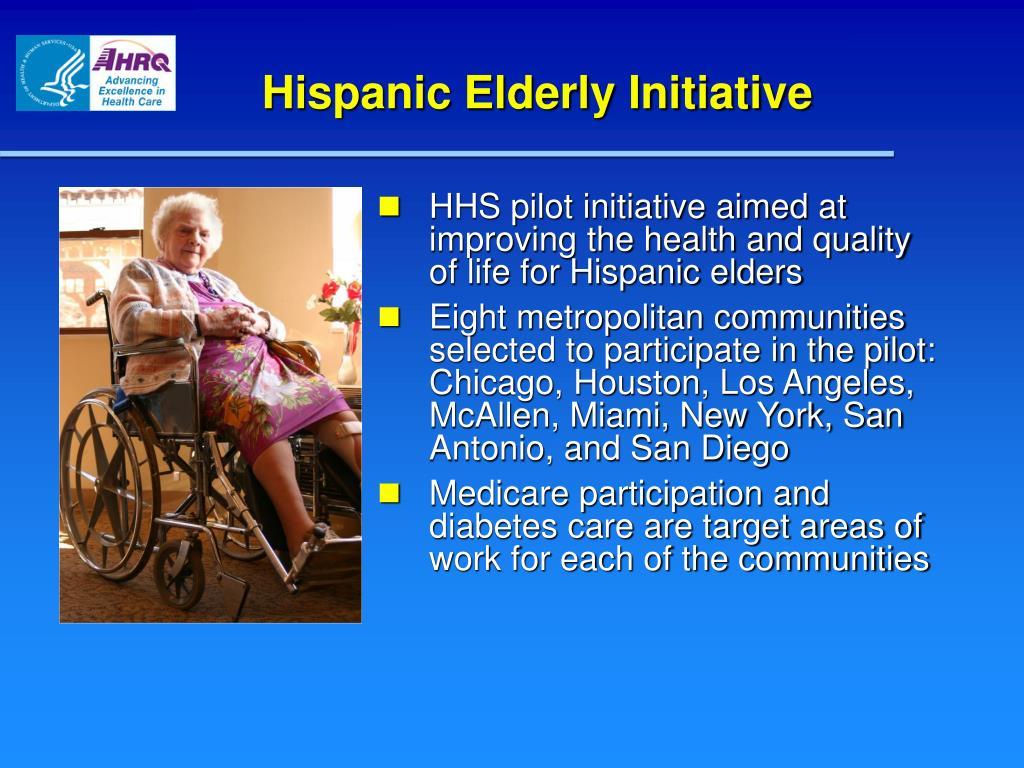 Hispanic Elderly Initiative