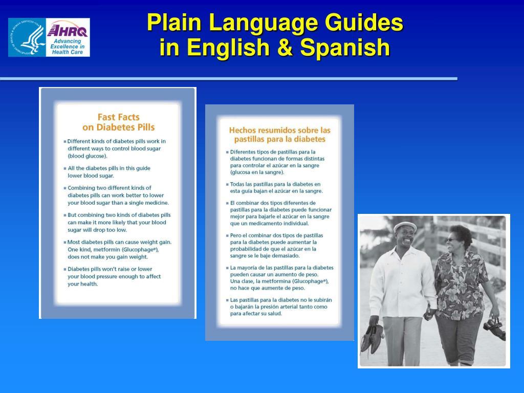 Plain Language Guides