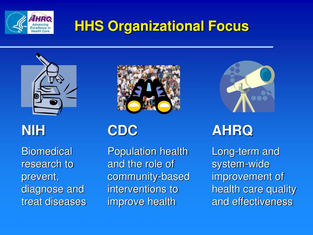 HHS Organizational Focus