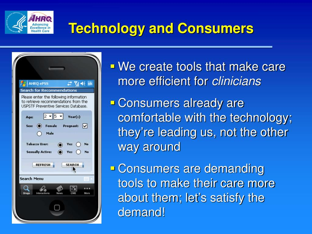 Technology and Consumers