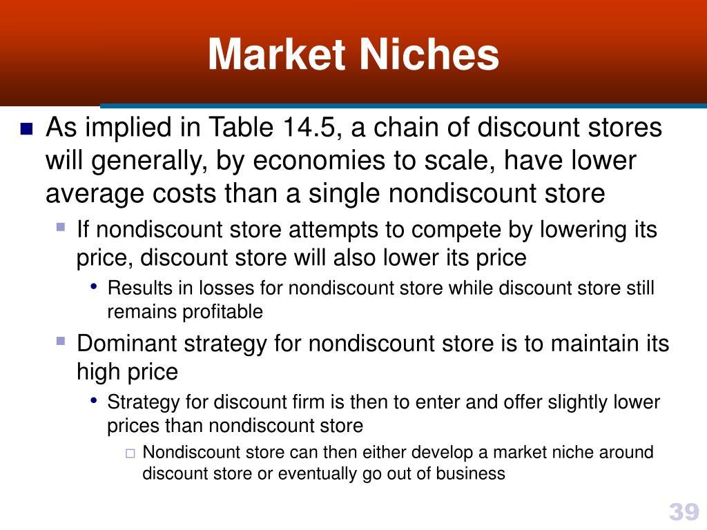 Market Niches