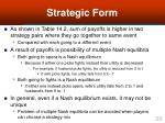 strategic form20