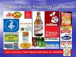 filipino brands expanding overseas