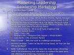 marketing leadership leadership marketing11