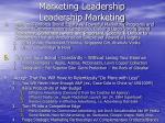 marketing leadership leadership marketing12