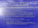 marketing leadership leadership marketing13