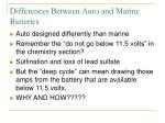 differences between auto and marine batteries