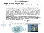 rotational dynamics7