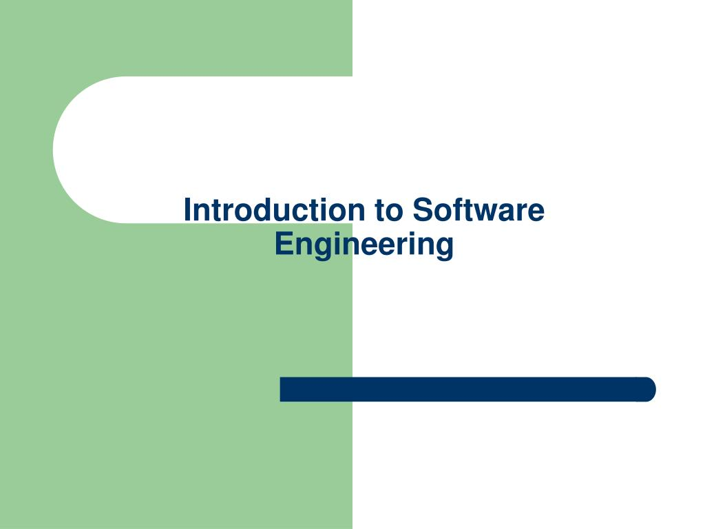 an introduction to software The software development life cycle (sdlc) is a process which is used to develop software sdlc is a step by step procedure need to be followed by the organizat.