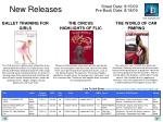 new releases20