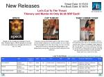 new releases22