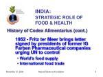 india strategic role of food health6