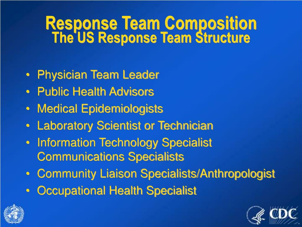 Response Team Composition