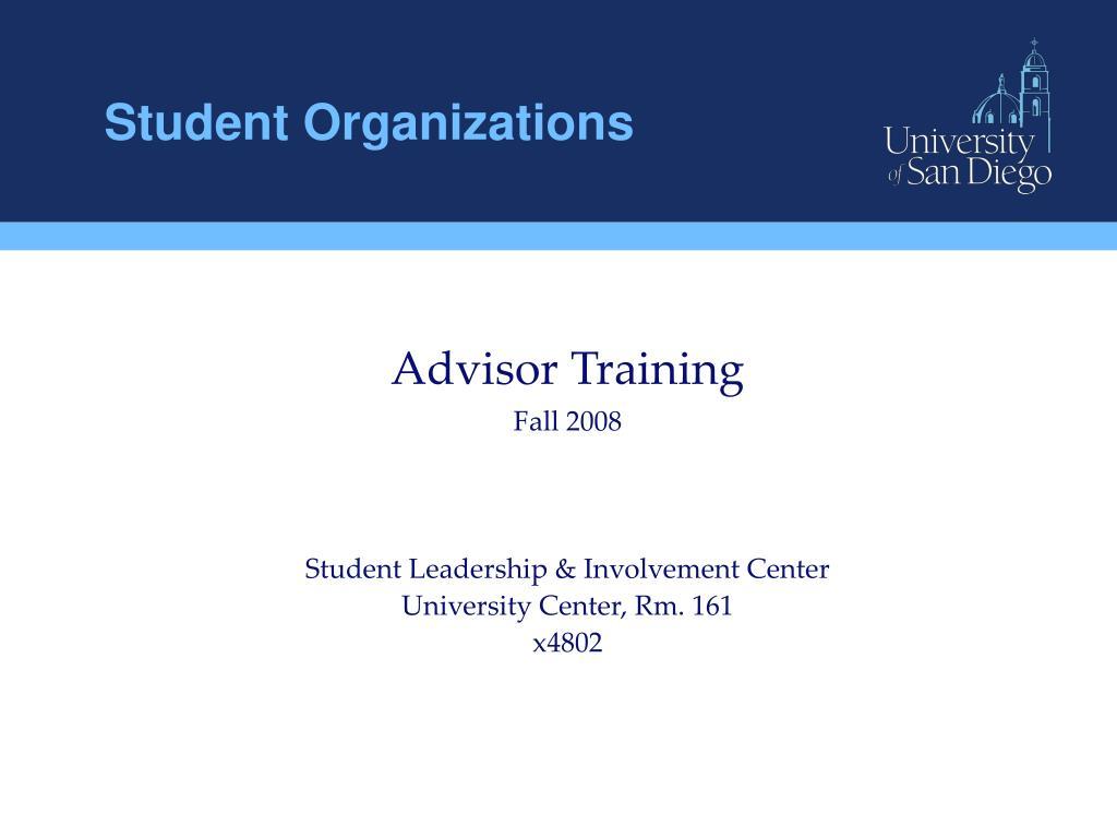 student organizations l.