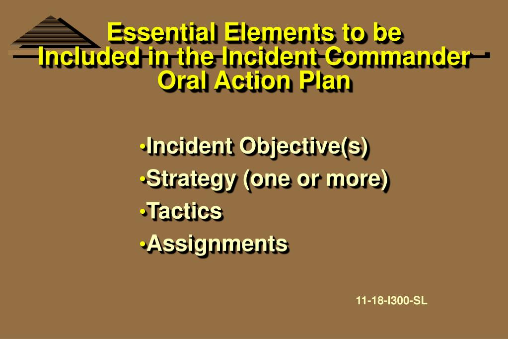 Essential Elements to be