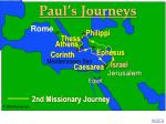 paul 2nd missionary journey