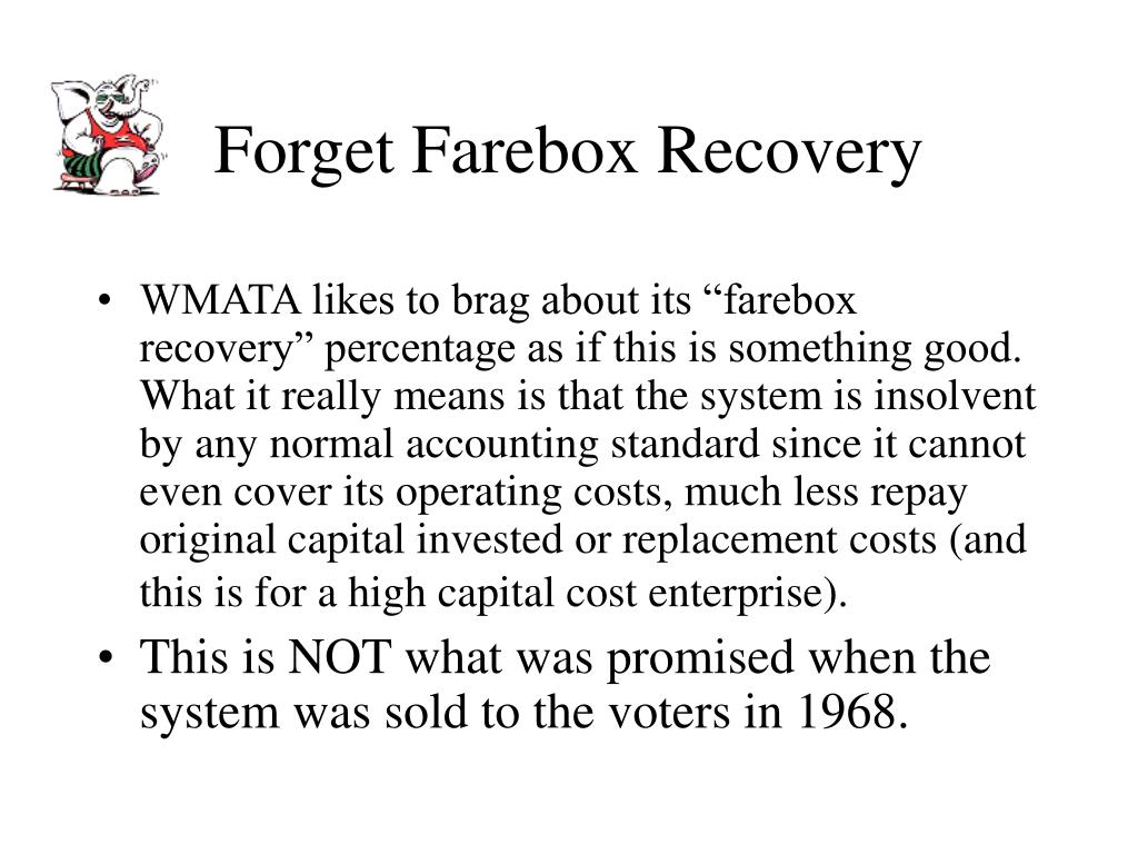 Forget Farebox Recovery