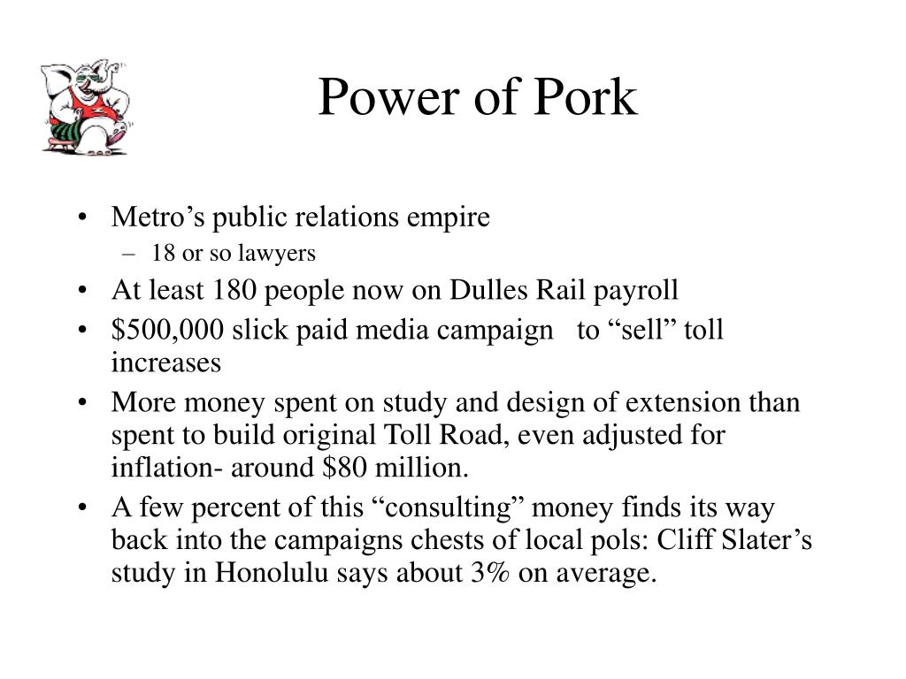 Power of Pork