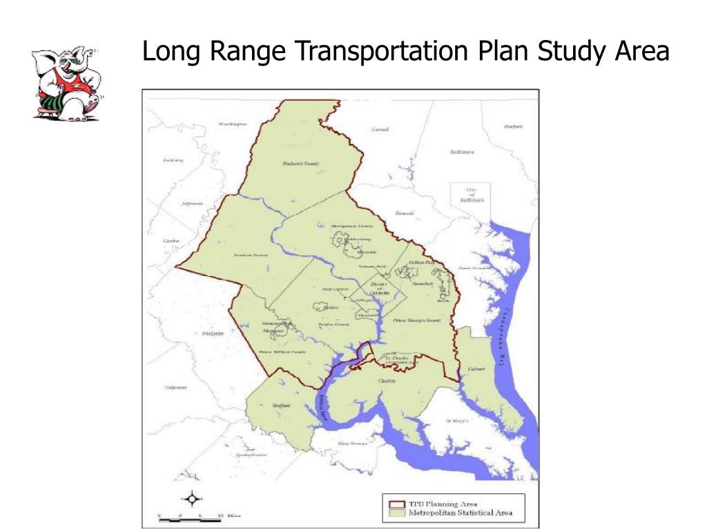 Long Range Transportation Plan Study Area