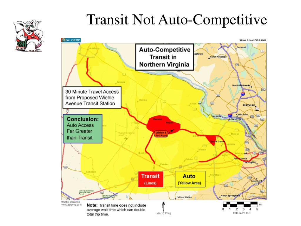 Transit Not Auto-Competitive