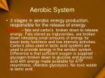 aerobic system13