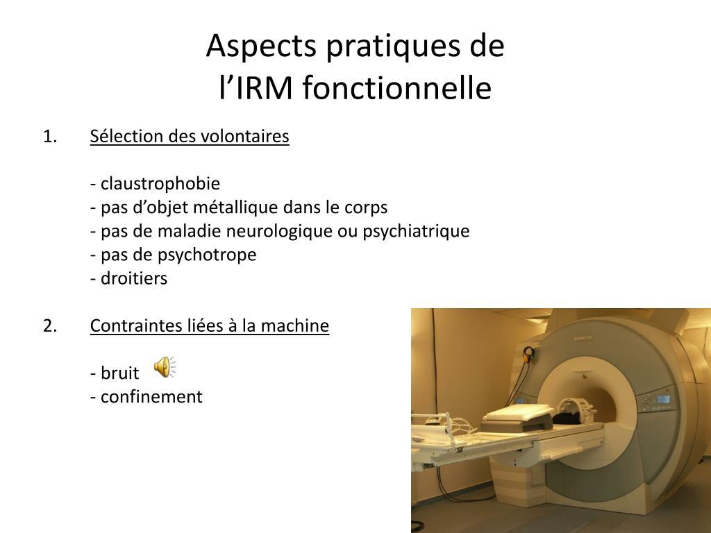 Aspects pratiques de