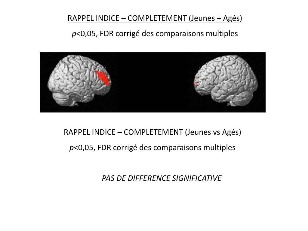 RAPPEL INDICE – COMPLETEMENT (Jeunes + Agés)