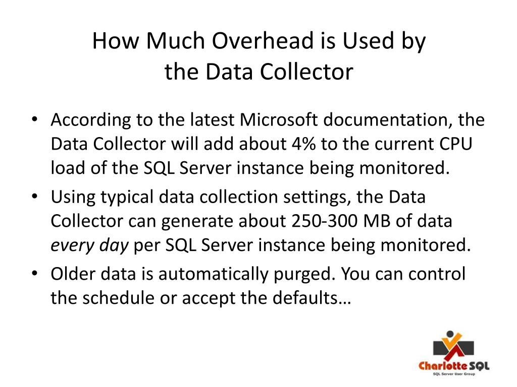How Much Overhead is Used by