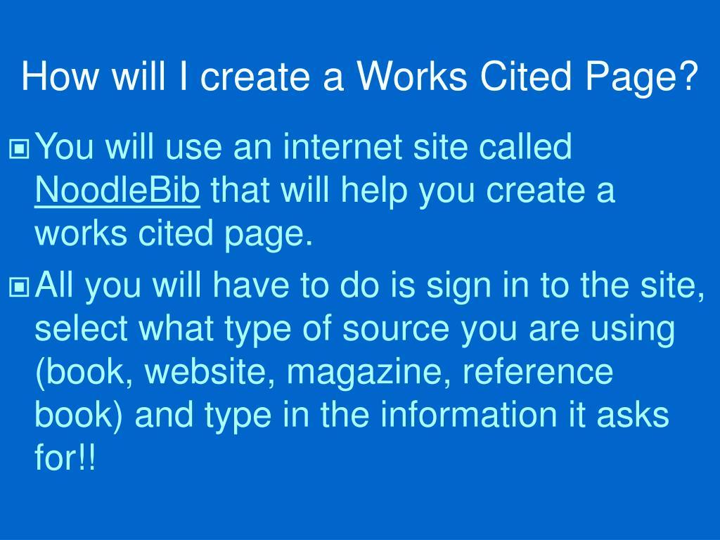 mla format works cited internet source