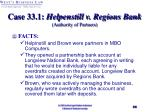 case 33 1 helpenstill v regions bank authority of partners