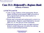 case 33 1 helpenstill v regions bank authority of partners30