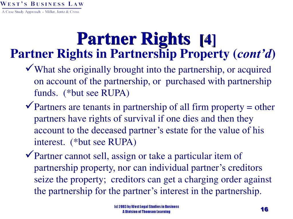 Partner Rights