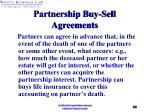 partnership buy sell agreements