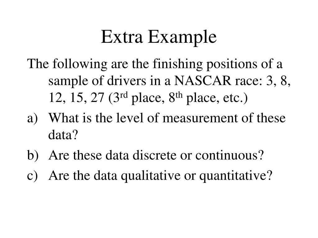 Extra Example
