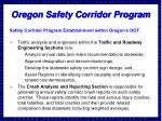 oregon safety corridor program1