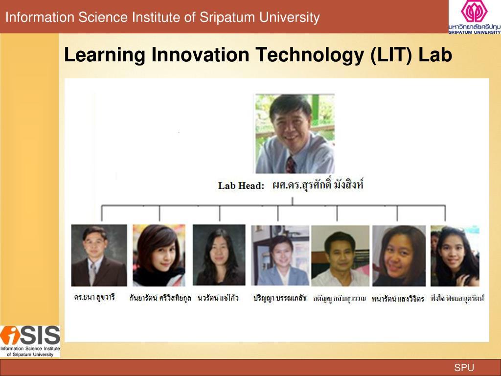 Learning Innovation Technology (LIT) Lab