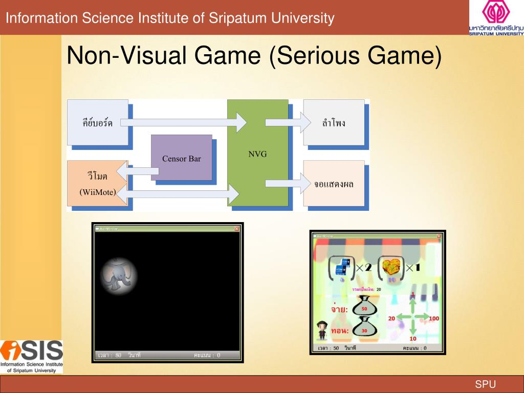 Non-Visual Game (Serious Game)
