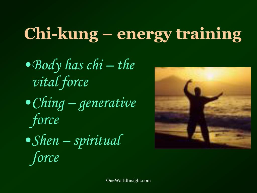 Chi-kung – energy training
