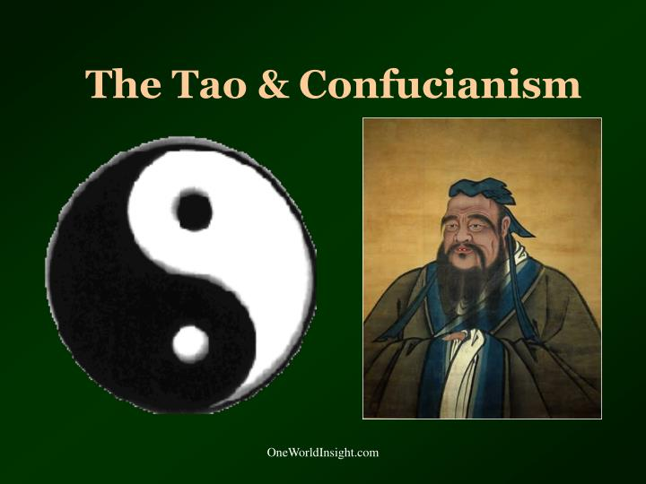 The tao confucianism