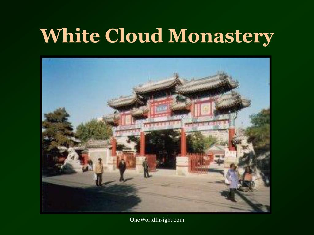 White Cloud Monastery