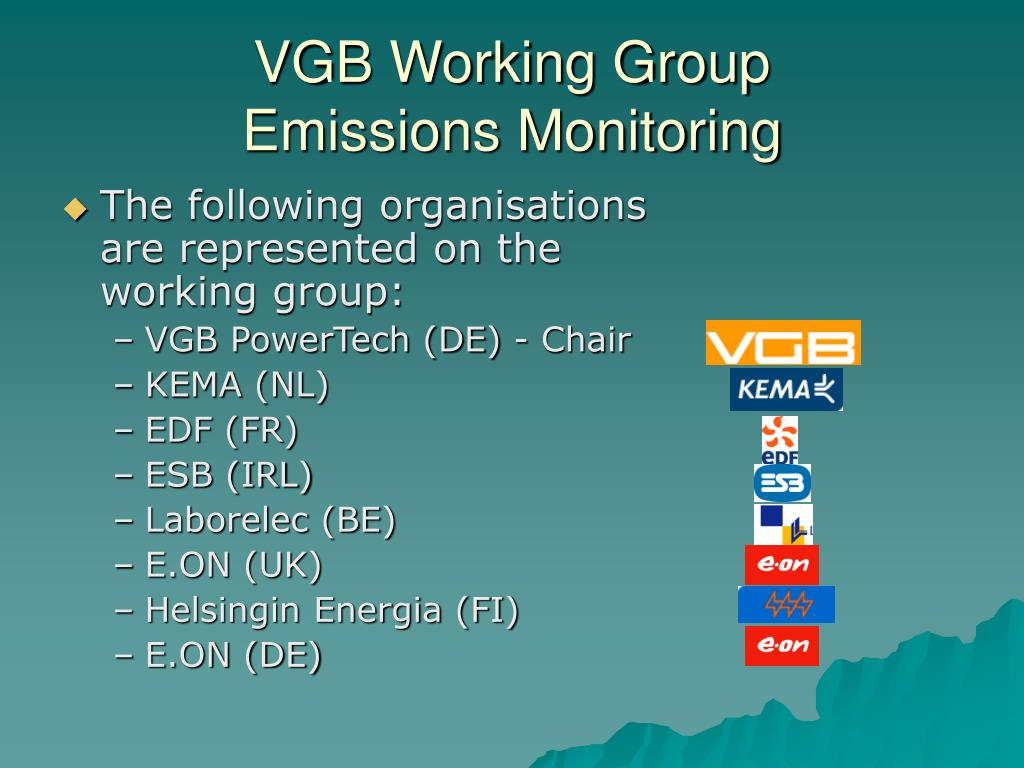 VGB Working Group