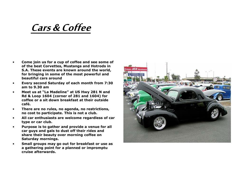 cars coffee l.