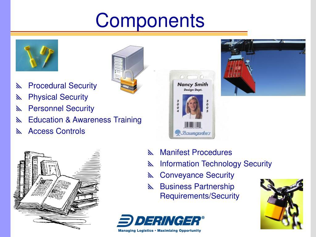 Procedural Security