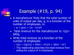 example 19 p 94