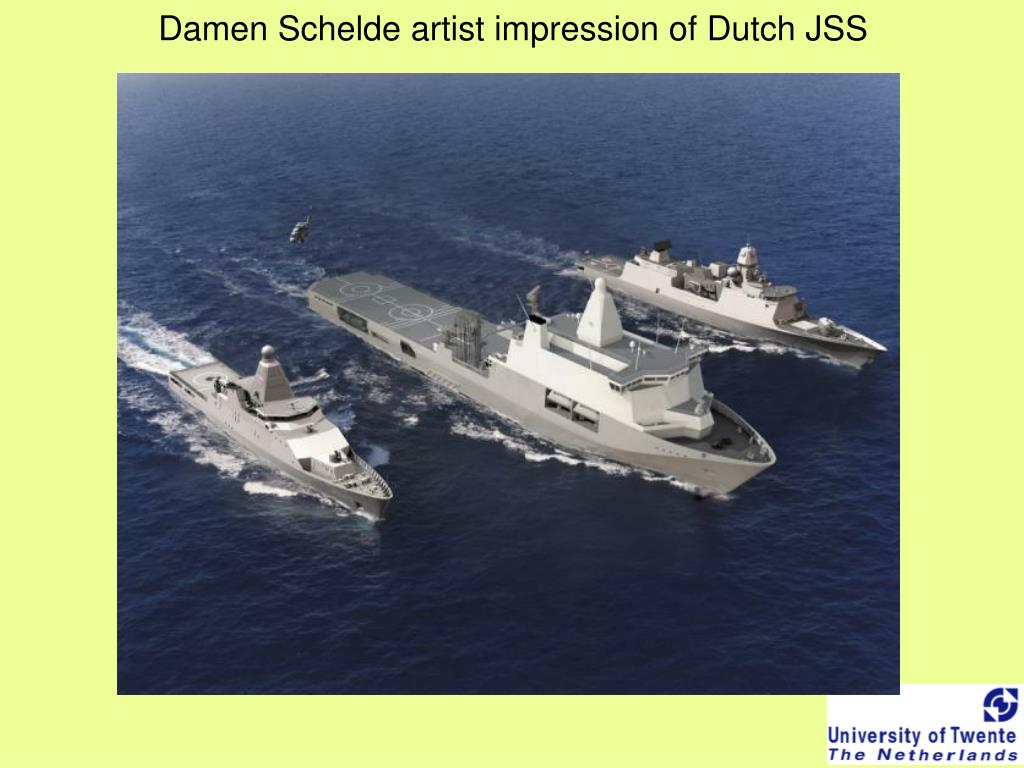 Damen Schelde artist impression of Dutch JSS